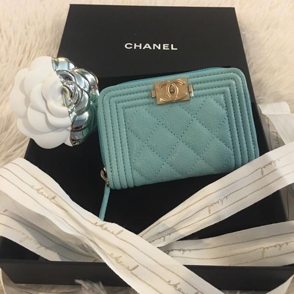 32432da0b099 CHANEL Bags | Authentic Blue Tiffany 19c Wallet | Poshmark